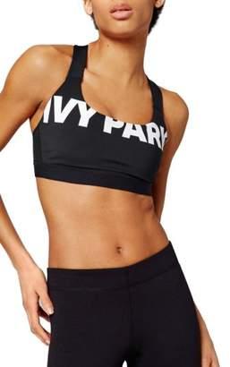 Ivy Park R) Logo Sports Bra