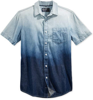 American Rag Men's Ombre Cotton Shirt, Created for Macy's