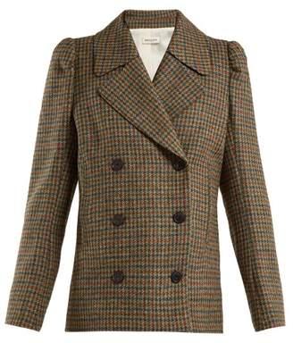 Masscob Double-breasted wool blazer