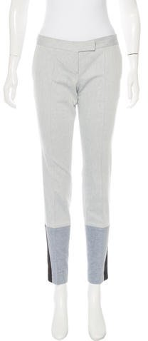 Barbara BuiBarbara Bui Mid-Rise Skinny Pants
