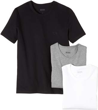 HUGO BOSS Three Pack of Crew Neck T-Shirts Coloured XL