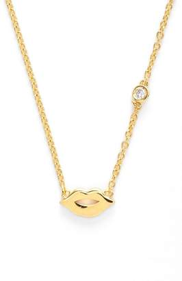 Sydney Evan Syd by Lips Necklace