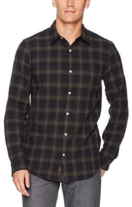 Lucky Brand Men's One Pocket Ballona Shirt