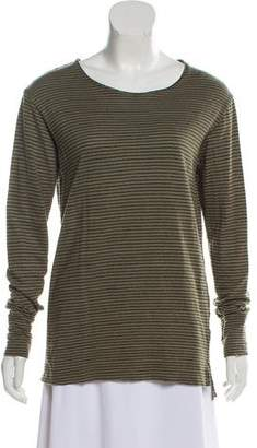 Etoile Isabel Marant Linen Striped Top