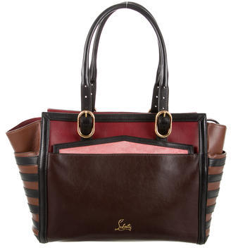 Christian Louboutin  Christian Louboutin Leather Farida Tote