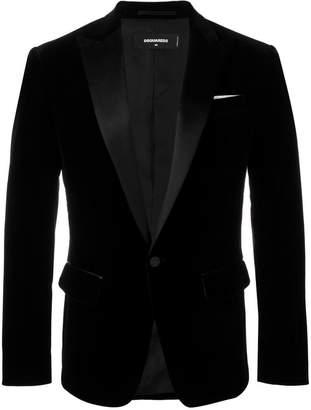 DSQUARED2 velvet blazer