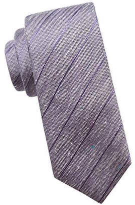 Vince Camuto Diagonal Striped Slim Tie