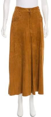 Joseph Suede Midi Skirt