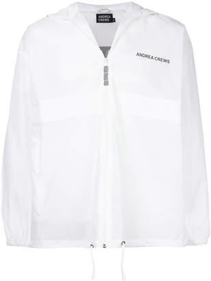 Andrea Crews lightweight zip jacket