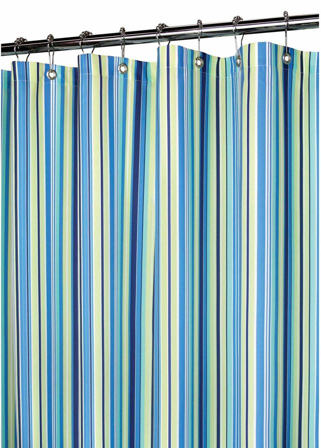 B. Smith Park Strings Stripe Blueberry 72-Inch x 72-Inch Watershed® Shower Curtain