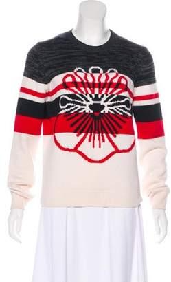 Kenzo Long Sleeve Intarsia Sweater