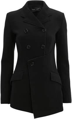 Proenza Schouler Jersey Asymmetrical Blazer Jacket