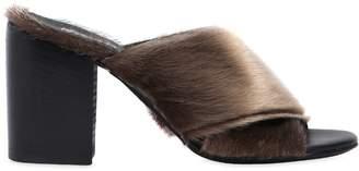 Rocco P. 70mm Ponyskin Mules