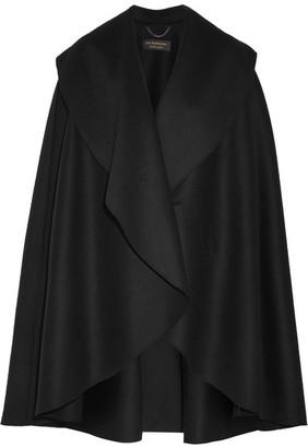 Burberry - Double-faced Wool-felt Cape - Black $2,895 thestylecure.com