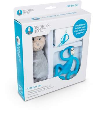 Baby Essentials Matchstick Monkey Teething Gift Set