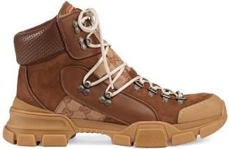 Gucci Men's Flashtrek GG high-top sneaker