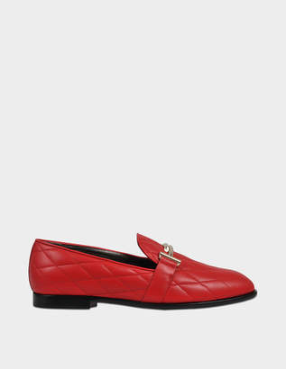 Tod's Qulted logo loafer