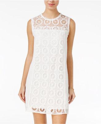 City Studios Juniors' Lace Shift Dress $59 thestylecure.com