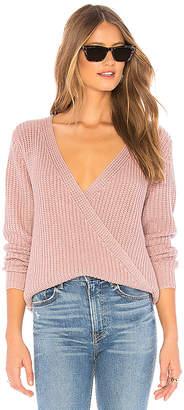 MinkPink Carmen Wrap Front Sweater