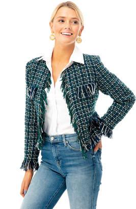 J.o.a. Felicity Fringe Jacket