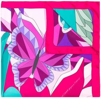Cha•Val Milano butterfly scarf