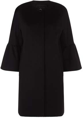 Max Mara Perim Collarless Coat
