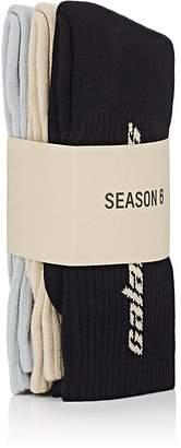 Yeezy Men's Season 6 Calabasas Mid-Calf Crew Socks 3-Pack