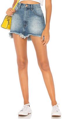 One Teaspoon Vanguard Mid Rise Skirt.