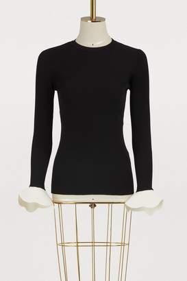 Valentino Sweater with flared cuffs