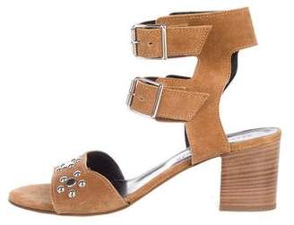 Rebecca Minkoff Embellished Suede Sandals