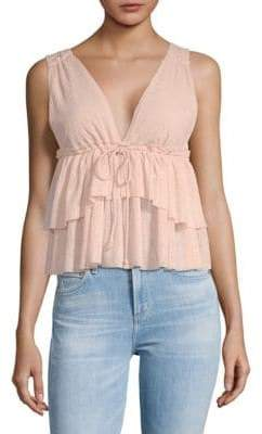 Tiered Babydoll Tank Top
