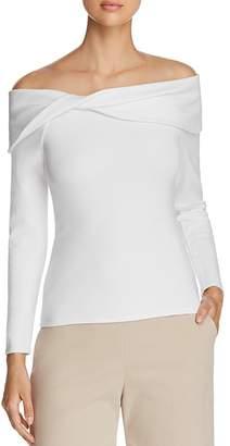 Karen Millen Twist Off-the-Shoulder Top - 100% Exclusive