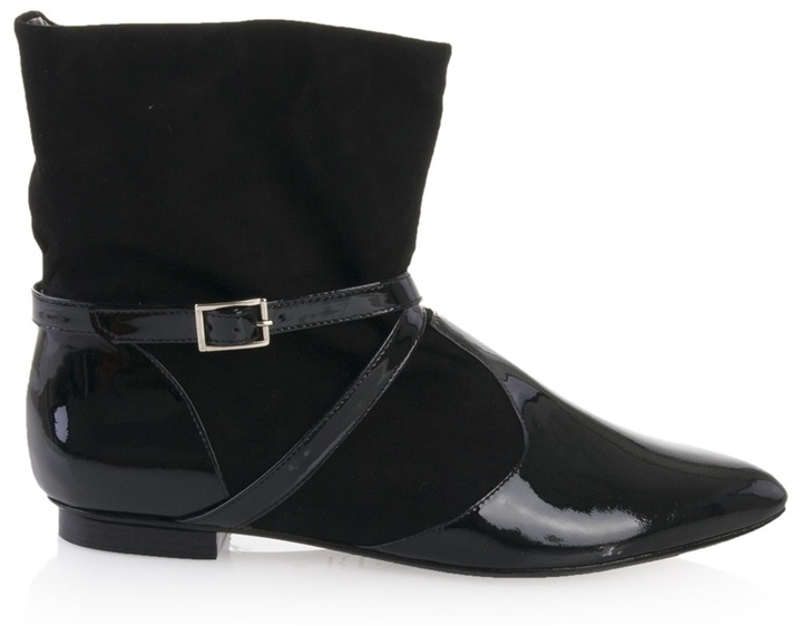 SWEAR - Patent and suede boots