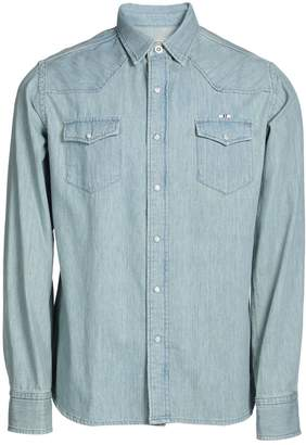 MAISON KITSUNÉ Denim shirts