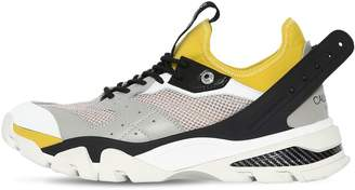 Calvin Klein Carlos 10 Leather & Mesh Sneakers
