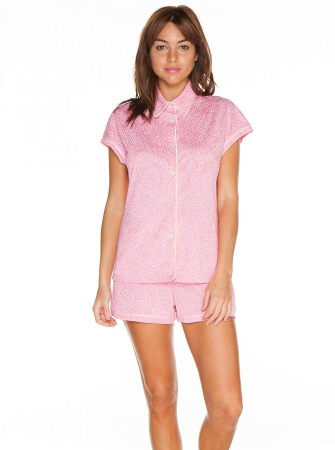 CosabellaBella Capsleeve & Boxer Pajama Set