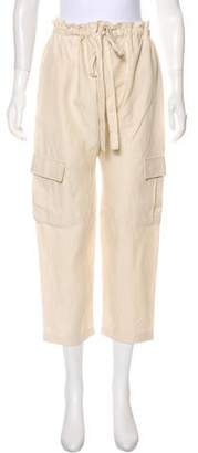 Ulla Johnson Straight-Leg High-Rise Pants