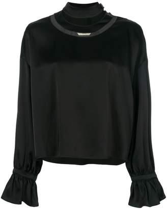 Fendi cut-out blouse