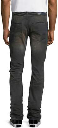 PRPS Faded & Whiskered Denim Slim-Straight Jeans