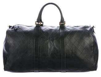 Chanel Quilted Duffle Bag
