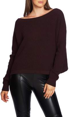 1 STATE 1.STATE V-Back Lace-Up Sweater