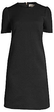MICHAEL Michael Kors Women's Textured Princess Sleeve A-line Dress