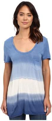The Beginning Of Wisteria Pocket Dip-Dye Tee Women's T Shirt