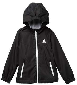 f7dbd0ddae5 Reebok Lightweight Hooded Jacket (Big Girls)