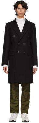 Editions M.R Black Albert Double-Breasted Coat