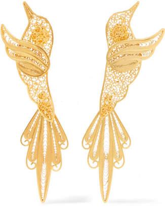 Mallarino Colibri Gold Vermeil Earrings - one size