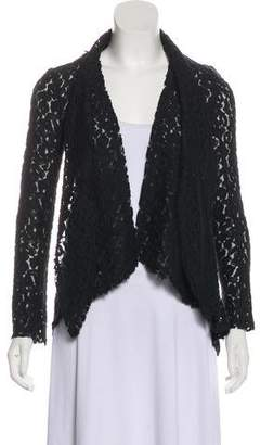 Elizabeth and James Open Front Lace Cardigan