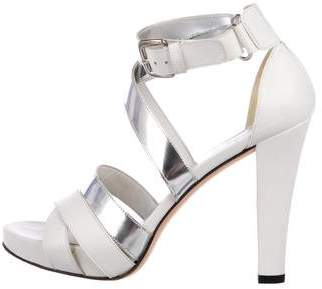 Stuart Weitzman Platform Multistrap Sandals