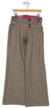 Ikks Girls' Plaid Pants w/ Tags