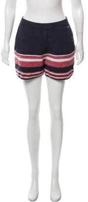 Chanel 2016 Patterned Knit Shorts